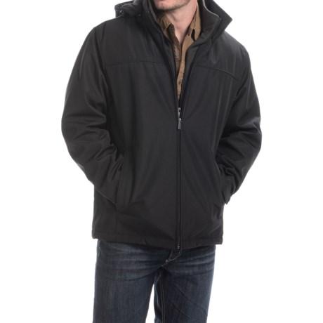 Weathercast Outerwear Co. Ultra Tech Fleece Jacket - Insulated, Hooded  (For Men)