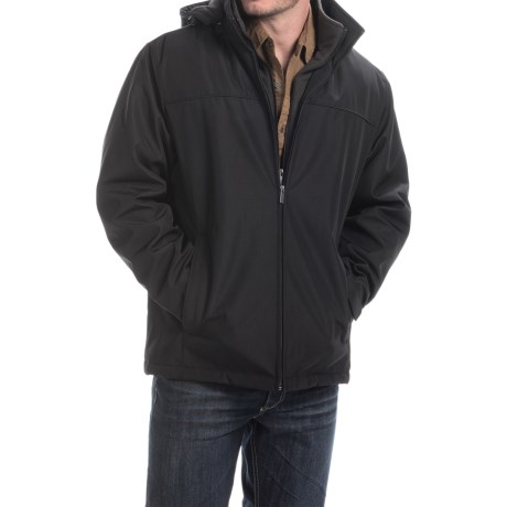 Weathercast Outerwear Co. Ultra Tech Fleece Jacket - Insulated, Hooded  (For Men)