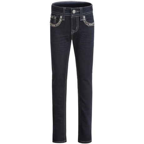 Grace in LA Caitlin Skinny Jeans (For Big Girls)