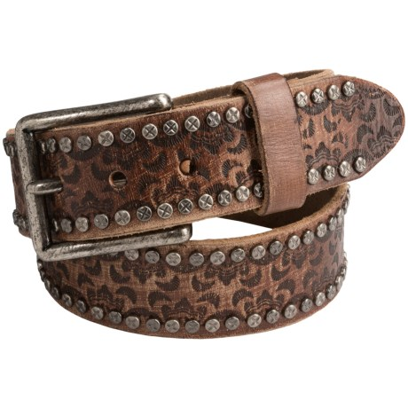 Will Leather Goods Cosmic Wild Ones Belt - Leather (For Women)