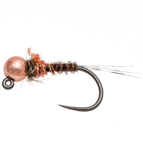 Fulling Mill Pheasant Tail Hot Spot Barbless Jig Nymph - Dozen