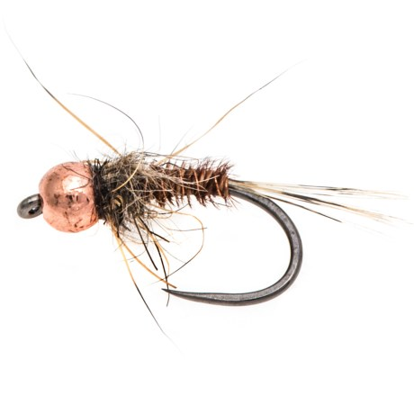 Fulling Mill Pheasant Tail Mary Tungsten Beadhead Barbless Nymph Fly - Dozen