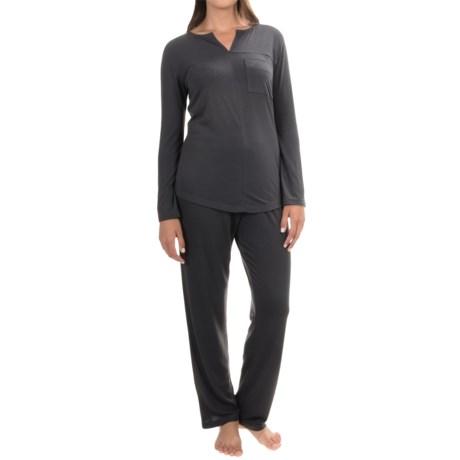 KayAnna Mimosa Pajamas - Long Sleeve (For Women)