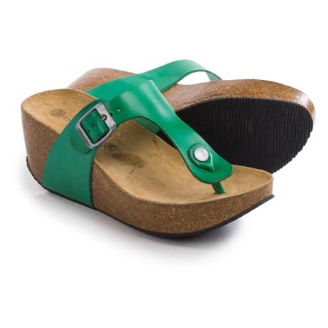 Lola Sabbia For Eric Michael Mila Platform Sandals - Leather (For Women)
