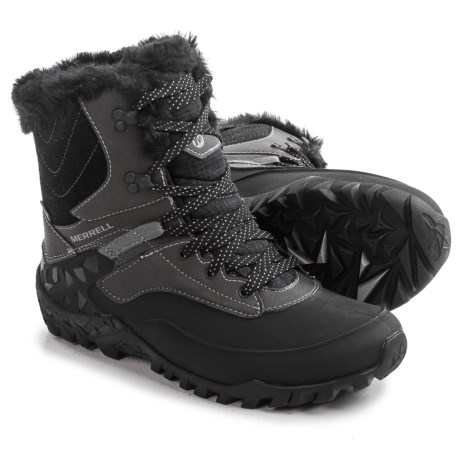 Merrell Fluorecein Shell 8 Snow Boots - Waterproof, Insulated (For Women)