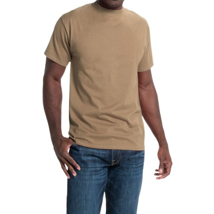 Hanes Beefy-T® T-Shirt - Short Sleeve (For Men and Women) in Tan - 2nds