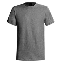 60/40 Blend Short Sleeve Beefy-t By Hanes (For Men and Women)