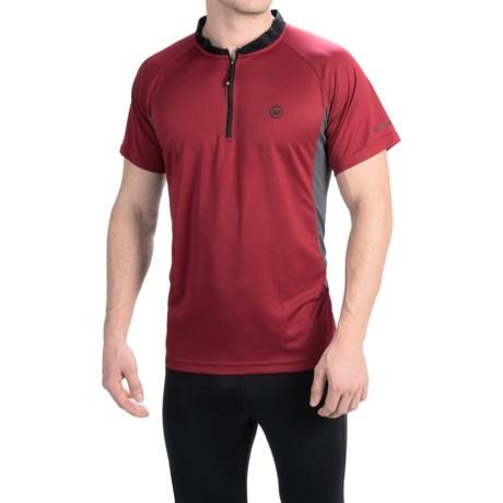 Canari Ridge Zip Neck Cycling Jersey - Short Sleeve (For Men)
