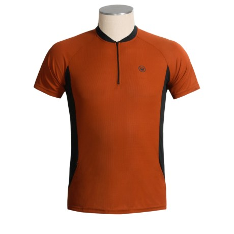 Canari Ridge Zip Neck Cycling Jersey - Short Sleeve (For Men)