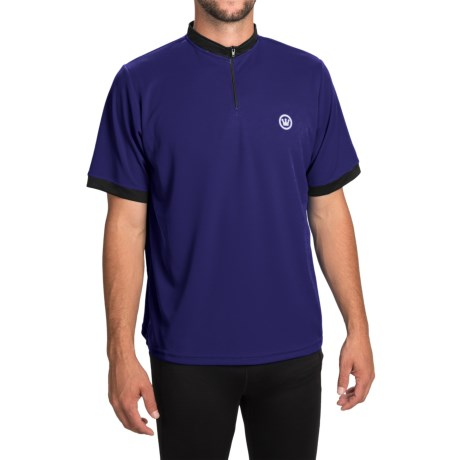 Canari Cruiser Cycling Jersey - Zip Neck, Short Sleeve (For Men)