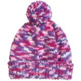 Grand Sierra Space-Dye Cuff Hat - Fleece Lined (For Little and Big Girls)