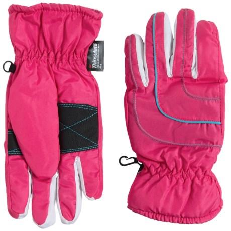 Grand Sierra Thinsulate® Gloves - Waterproof, Insulated (For Big Girls)