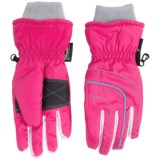 Grand Sierra Thinsulate® Ski Gloves - Waterproof, Insulated (For Little Girls)