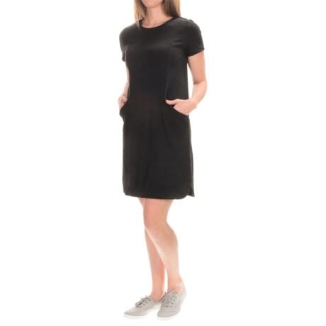 Cotton Shift Dress - Short Sleeve (For Women)