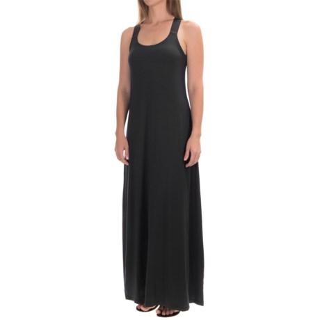 Micromodal® Maxi Tank Dress - Built-In Bra (For Women)