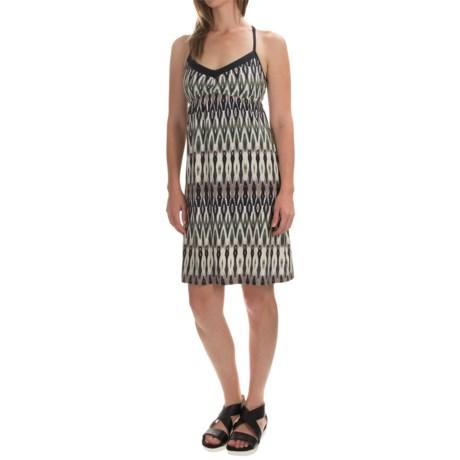Printed Halter Dress - Sleeveless (For Women)