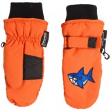 Grand Sierra Taslon Ski Mittens - Waterproof, Insulated (For Toddlers)