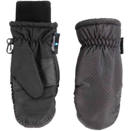 Grand Sierra Thinsulate® Ski Mittens - Insulated (For Little Girls)