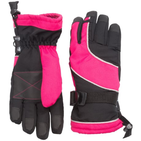 Grand Sierra Oxford Thinsulate® Snowboard Gloves - Waterproof, Insulated (For Big Girls)