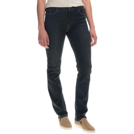 Stretch Denim Jeans - Straight Leg (For Women)