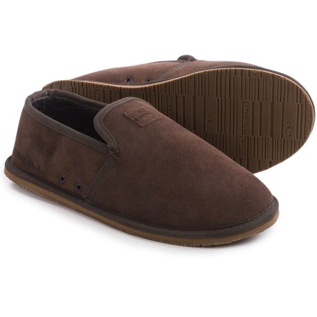 O'Neill Surf Turkey Low Suede Slippers (For Men)