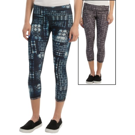 MSP by Miraclesuit Printed Capris - Reversible (For Women)