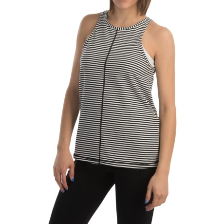 MSP by Miraclesuit Striped Tummy Control Tank Top (For Women)