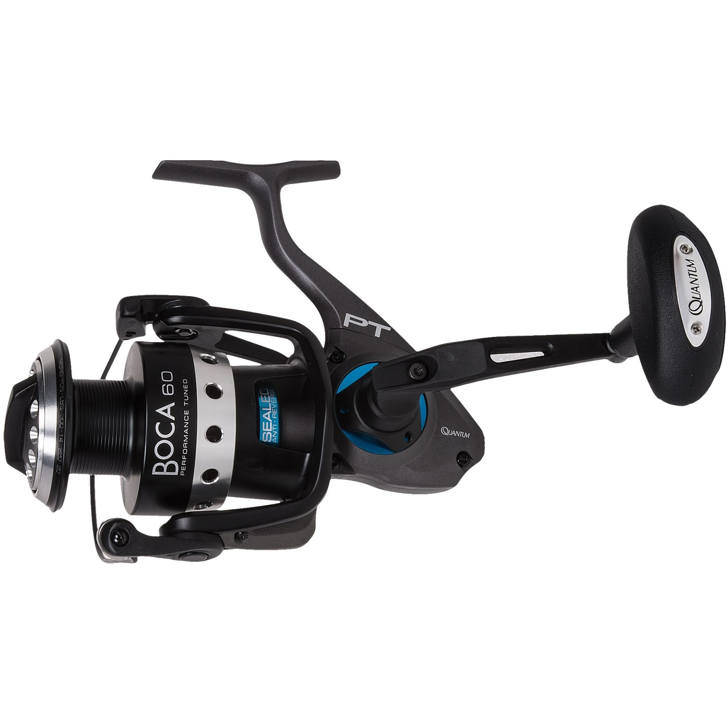 Quantum boca pt 60 saltwater spinning reel 150gh save 43 for Quantum fishing reel