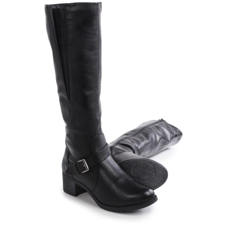 Aquaskin by Henri Pierre Vivienne Boots - Vegan Leather, Wool Lined (For Women)