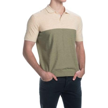 C89men Color-Block Polo Shirt - Short Sleeve (For Men)