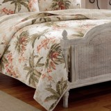 Tommy Bahama Reversible Bonny Cove Quilt - Full-Queen, Prewashed Cotton