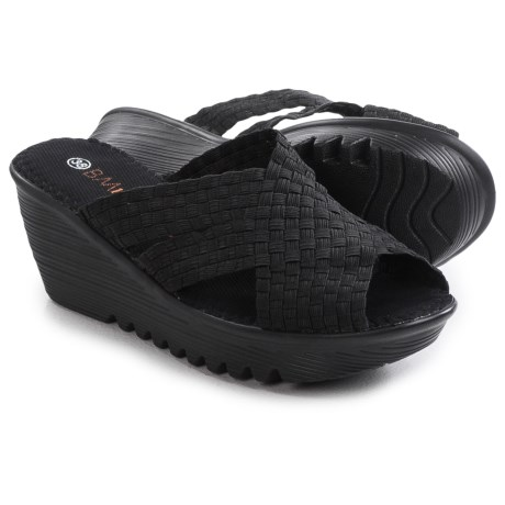 bernie mev. Lori Wedge Sandals (For Women)