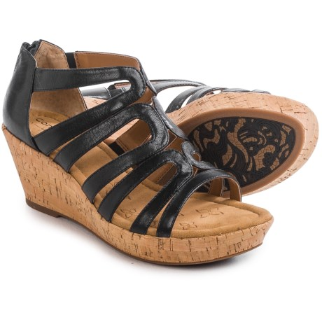Comfortiva Redmond Wedge Sandals (For Women)