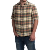 Woolrich Chill Out Pucker Plaid Shirt - Short Sleeve (For Men)