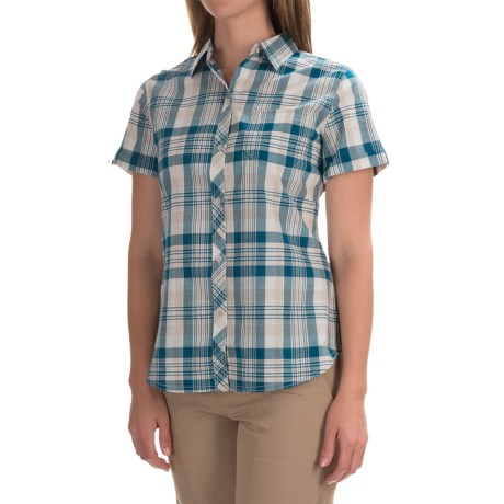 Woolrich Twin Lakes Plaid Shirt - Short Sleeve (For Women)