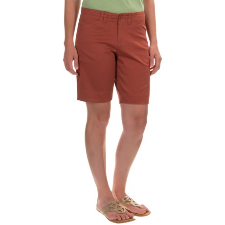 Woolrich Wood Dove Shorts - Curved Fit (For Women)