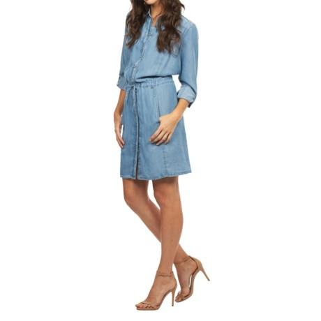 FDJ French Dressing Denim Dress - TENCEL®, Long Sleeve (For Women)
