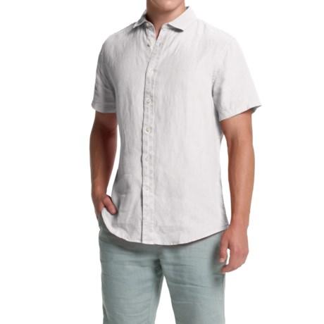 Slate & Stone Jordan Shirt - Linen, Short Sleeve (For Men)