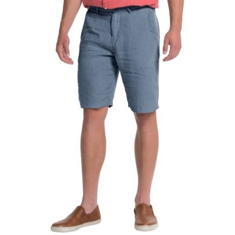 Slate & Stone Cooper Linen Shorts (For Men)