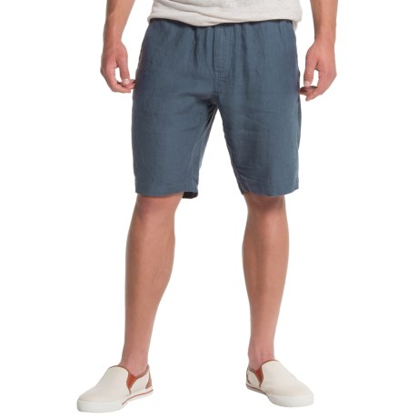 Slate & Stone Berkley Drawstring Shorts - Linen (For Men)