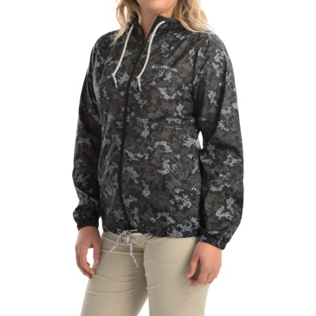 Columbia Sportswear Flash Forward Printed Omni-Shield® Windbreaker Jacket (For Women)