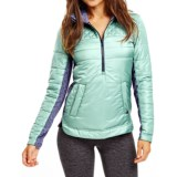 Carve Designs Point Reyes Jacket - Zip Neck, Insulated (For Women)