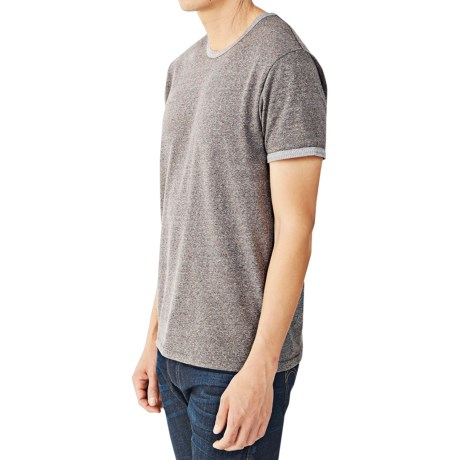 Alternative Apparel Eco-Mock Twist Ringer Jersey - Short Sleeve (For Men)