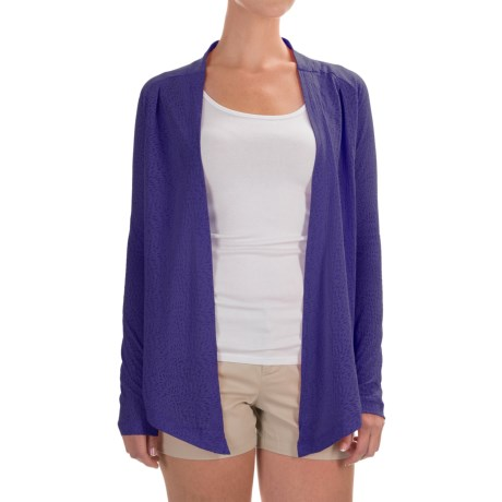 Columbia Sportswear See Through You Burnout Cardigan Wrap - Long Sleeve (For Women)