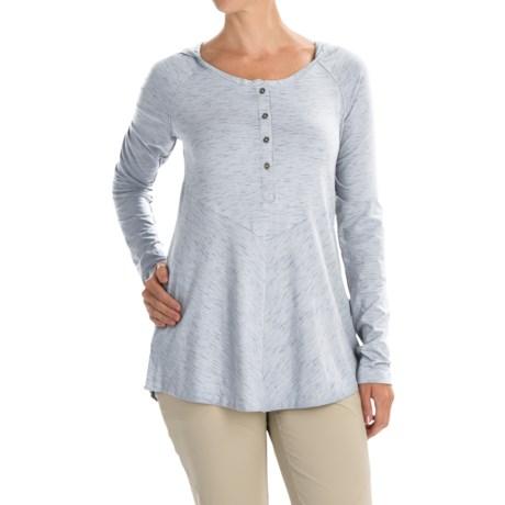 Columbia Sportswear Blurred Line Hooded Shirt - Long Sleeve (For Women)