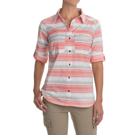 Columbia Sportswear Pilsner Peak Stripe Shirt - Omni-Wick®, UPF 50, Long Sleeve (For Women)