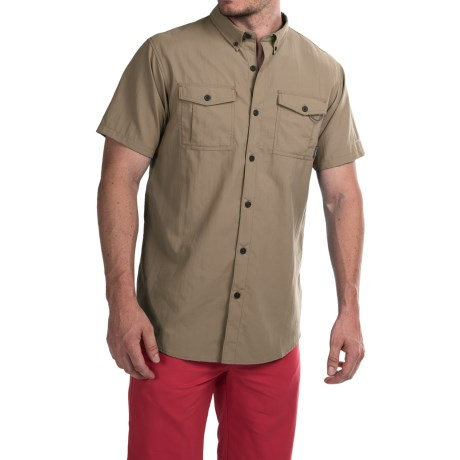 Columbia Sportswear Cedar Peak Performance Shirt - UPF 30, Short Sleeve (For Men)