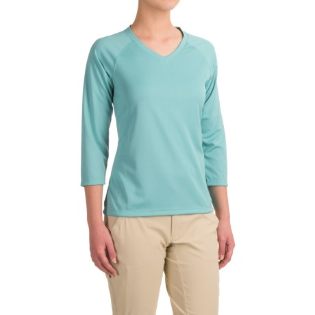 Columbia Sportswear PFG Skiff Agua Shirt - Omni-Wick®, UPF 50, 3/4 Sleeve (For Women)