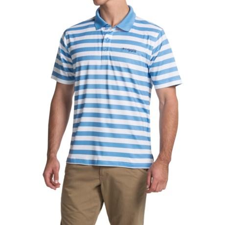 Columbia Sportswear PFG Super Low Drag Polo Shirt - Omni-Wick®, UPF 30, Short Sleeve (For Men)