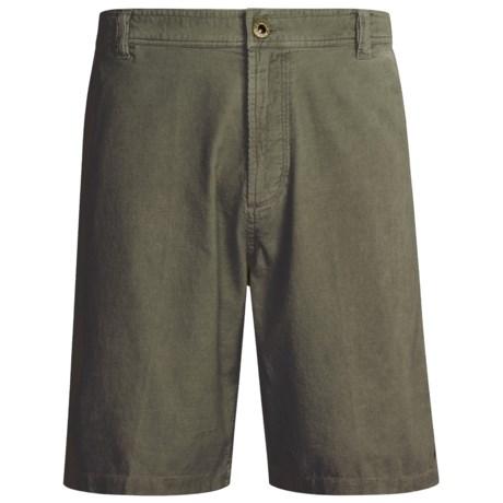 White Sierra Sportswear Slider Shorts (For Men)